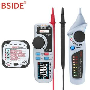 Bside Ac dc Color Display Digital Multimeter Trms Auto Range 6000 Tester Kit