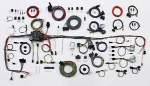 1983 1987 Chevy C10 Squarebody Truck American Autowire Wiring Harness Kit 510706