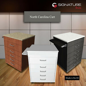 North Carolina Dental Mobile Carts Real Wood Usa Choose Colors