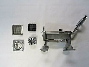 Potato French Fry Fruit Vegetable Cutter Slicer Commercial Quality 3 Blades