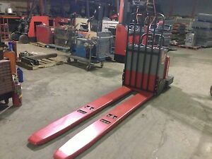 2005 Raymond Forklift 112 Ride On Jack 8000 96 Forks 24v W battery