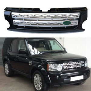For Land Rover Discovery3 Lr3 2005 2009 Front Bumper Upper Vent Grille Grill 1pc