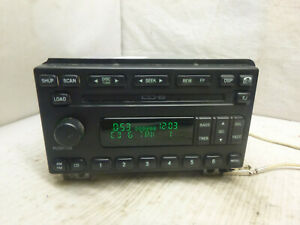 01 02 03 04 Ford Mustang Explorer Mach Radio 6 Cd Player 3r3t 18c815 Ce Dsw71