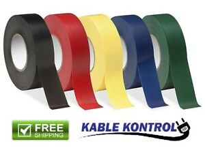 3 4 Inch Wide X 60 Ft Long Kable Kontrol Electrical Tape