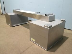 sturdi Bilt Hd Commercial nsf Ss Type 2 Exhaust Hood steam vapor heat odors