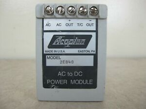 Acopian 2eb40 Mini Encapsulated Linear Regulated Ac To Dc Power Supply Module