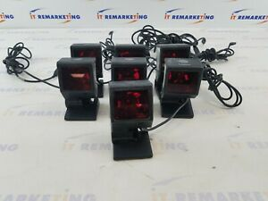 Lot Of 7x Metrologic Quantumt Ms3580 Usb Barcode Scanner Tested