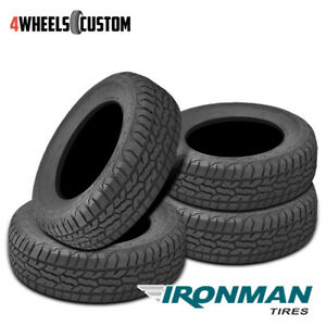 4 X New Ironman All Country A T 285 75 16 126 123q All Terrain Truck Suv Tire