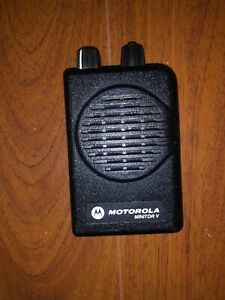 Motorola Minitor V Stored Voice 151 158 9 Mhz Vhf Fire Ems Pager