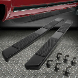For 19 20 Ram 1500 Truck Crew Cab Aluminum 6 Side Step Nerf Bar Running Board