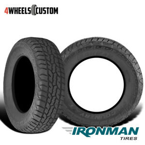 2 X New Ironman All Country A T 285 75 16 126 123q All Terrain Truck Suv Tire
