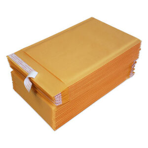250 0 6x10 Kraft Bubble Mailers Padded Envelopes Bags