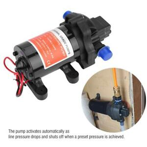 Diaphragm Water Pump 12v 3 5gpm 45psi Ideal For Caravan rv boat marine