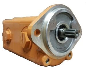 New Case 1825 Tandem Hydraulic Gear Pump