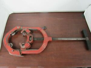 4 6 Heavy Duty Hinged Pipe Cutter Fits Ridgid Reed Wheels Used 27fl