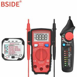 Bside Hesc Mini Automatic Smart Digital Multimeter 6000 Counts Auto Range T rms