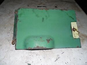 John Deere 70 Diesel Tractor Pony Motor Door And Gas Tank