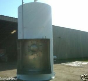 3 000 Gallon Jacketed Ss Dairy Tank Silo Mfg Cherry Burrell