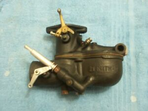 Model A Ford Zenith 2 Carburetor Rebuilt Brass Throttle Lever By Holley O