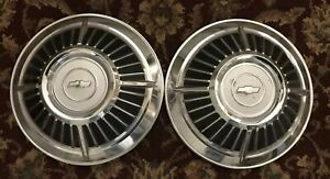 1963 Chevrolet Dog Dish Hubcaps