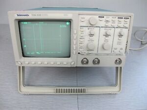 Tektronix Tds310 Two Channel Oscilloscope Tds 310 50mhz 200ms s