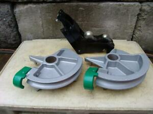 Greenlee 1 1 2 And 2 Inch Imc Bending Shoes And Roller Support For 555 Bender 1