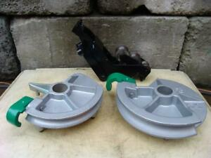 Greenlee 1 1 2 And 2 Inch Imc Bending Shoes And Roller Support For 555 Bender 3