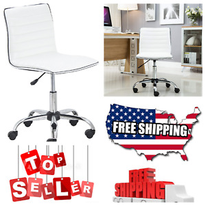 Btexpert Executive Mid Back Office Chair leather Soft upholstery Office Chair