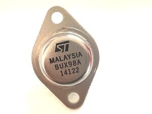 10 Pieces Bux98a To 3 High Power Npn Silicon Transistor New Original St