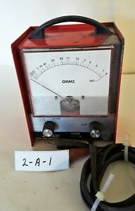 Snap On Mt 806 Ohm Meter