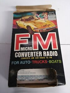 Audiovox Fm Converter Model Fmc ic For Your Am Radio