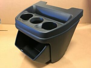 03 16 Chevy Express Gmc Cargo Van Black Center Console Cup With Opening