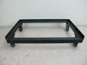 Metal 4 wheel Cabinet Dolly Cart Plastic Casters 17 x11