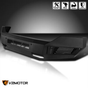 2013 2018 Dodge Ram 1500 Front Bumper Off Road Armor Heavy Duty Matt Black Steel