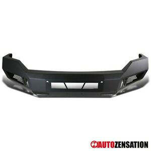 For 2013 2018 Ram 1500 Black Steel Pickup Front Bumper Guard Truck Replacement