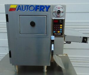 Auto Fry Fryer Ventless Electric Countertop 2lb Product Heating Lamp