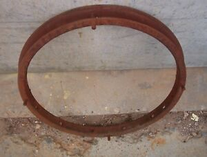 Ford Model T Essex Rim Wooden Spoke Original Automobile Rim 21