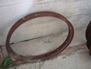 One 1 Ford Model T Inner Rim Wooden Spoke Original Automobile Rim 23