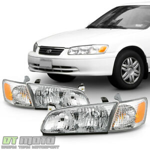 For 2000 2001 Toyota Camry Headlights Headlamps corner Lights 4pcs Left right