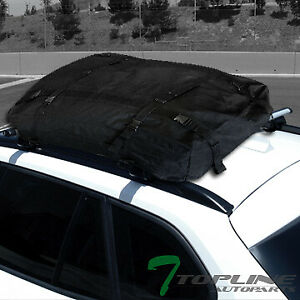 Universal 50 Silver Oval Roof Rail Rack Cross Bar Cargo Carrier Bag Luggage T16