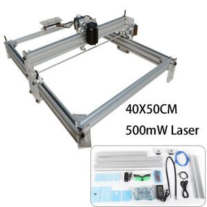 220v Eu 500mw Mini Laser Engraving Machine 40x50cm Image Carving Engraver Diy