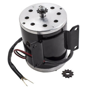 Dc Electric Motor Brushed 2500 Rpm For Bike Scooter Go Kart My1020 500w 24v 26 7