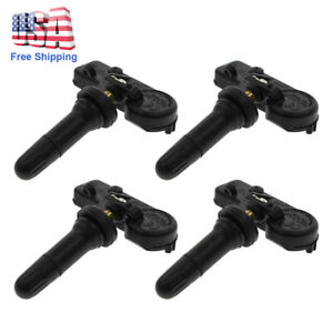 4x Tpms Tire Pressure Monitor System Sensors For Chrysler Jeep Dodge 56029398ab