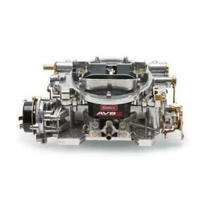 Edelbrock 1903 Avs2 Series Dual Quad Carb 500 Cfm Electric Choke