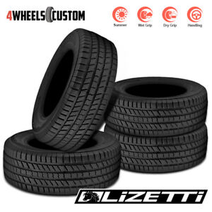 4 X New Lizetti Lz htc 275 65r17 113t High Performance Summer Tires