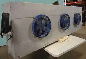 H d Commercial kramer 3 Fan Low Profile Evaporator For Deli Walk In Cooler