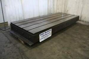 60 X 144 X 12 Cast Iron T Slotted Floor Plate Yoder 67795