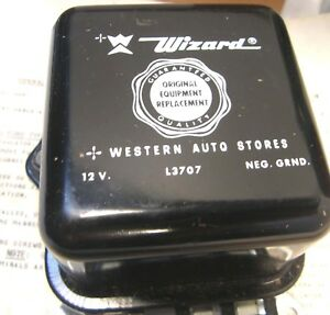 Vintage Nos Western Electric Wizard Heavy Duty Voltage Regulator L3707 12 Volt