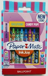 Papermate Inkjoy Candy Pop Assorted Colors Ballpoint Pens Pack Of 10 2040186