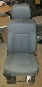 Super Duty 2011 2016 Ford F250 350 450 Superduty Front Grey Vinyl Seat Pass Side